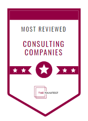 Most Reviewed Consulting Poland Badge