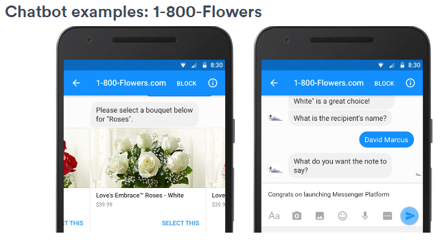 1800 Flowers Chatbot