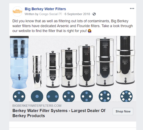 Big Berkey Water Filters Facebook