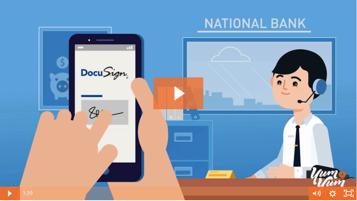 DocuSign explainer video