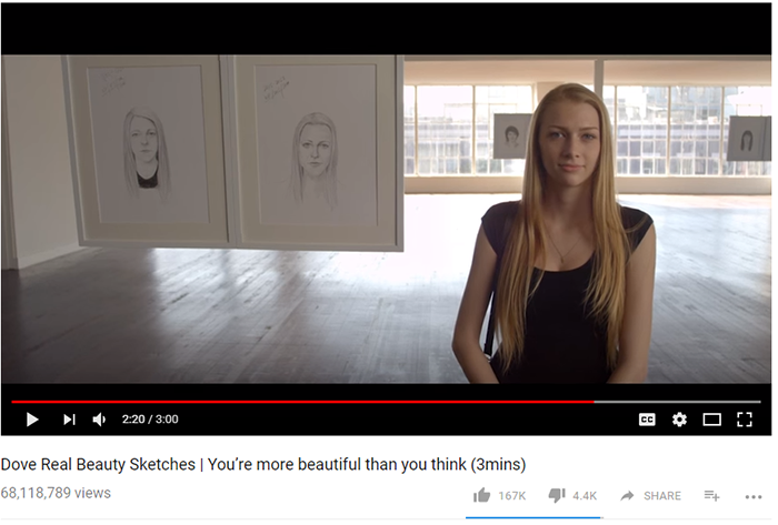 Dove Beauty viral campaign