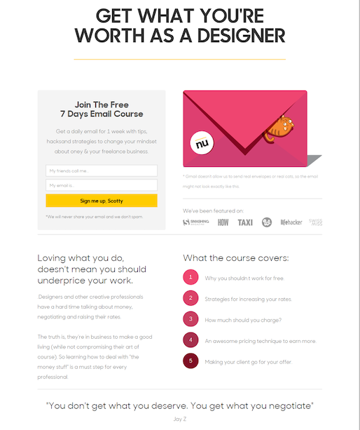 Get What You're Worth As a Designer