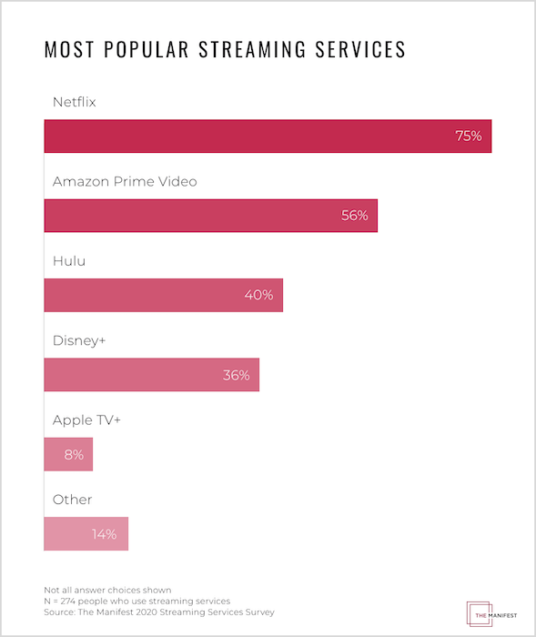 Most Popular Streaming Services