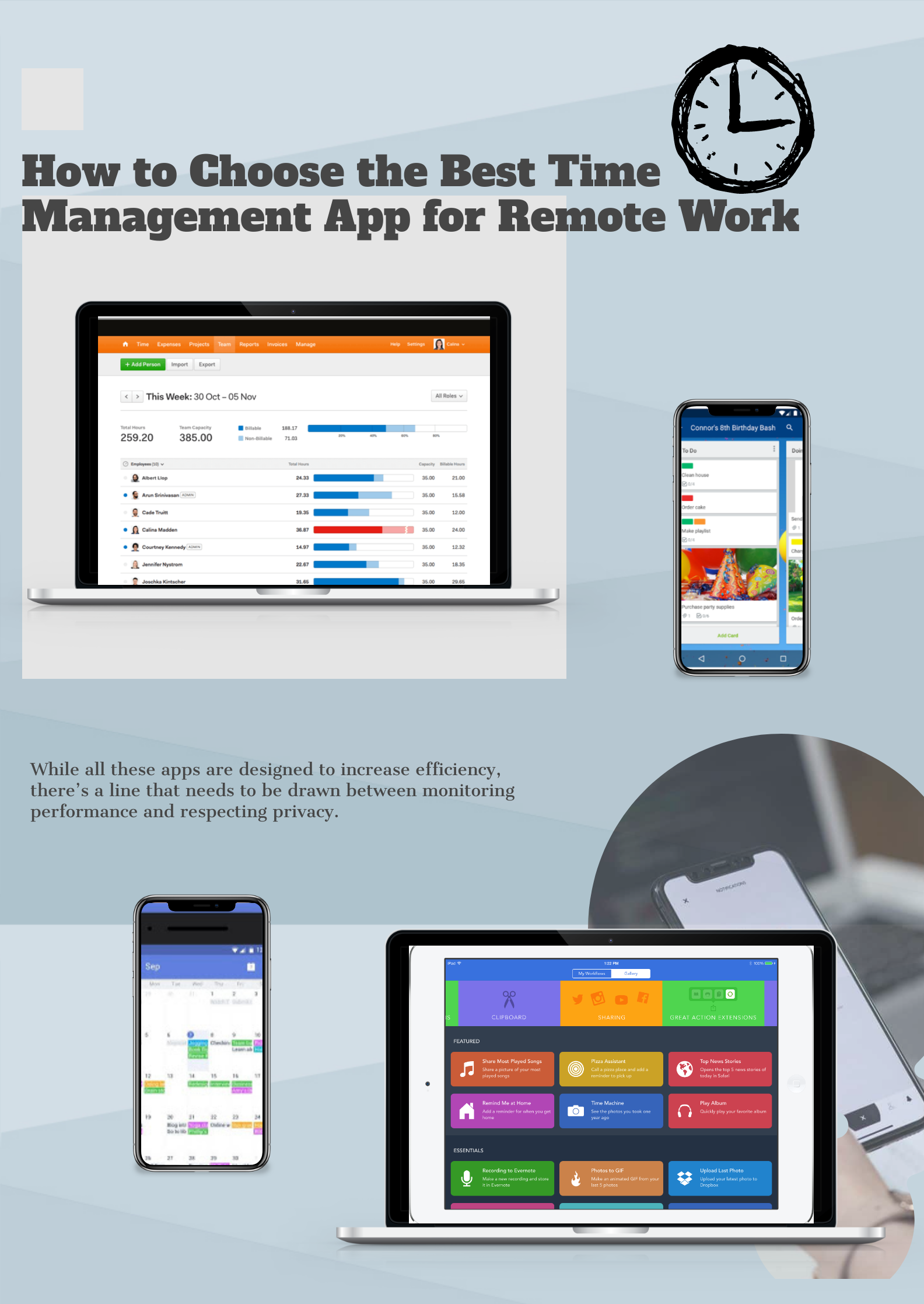 how to choose the best time management app for remote work