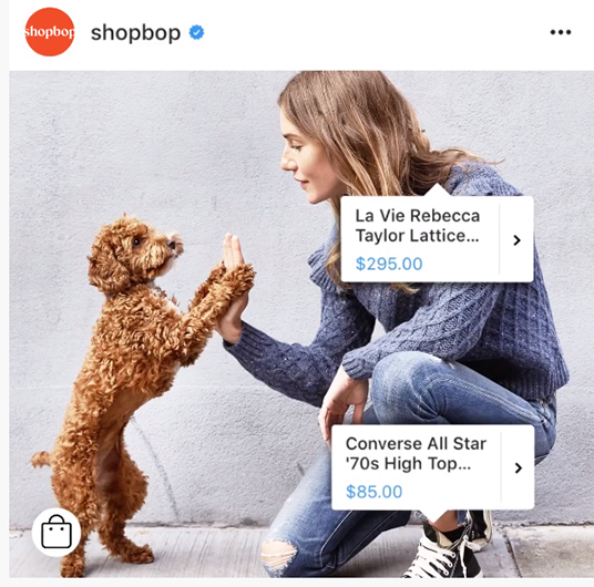 Instagram Product Tags in Posts