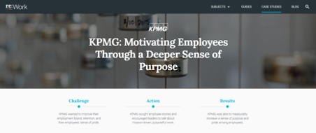 KPMG Employee Motivation