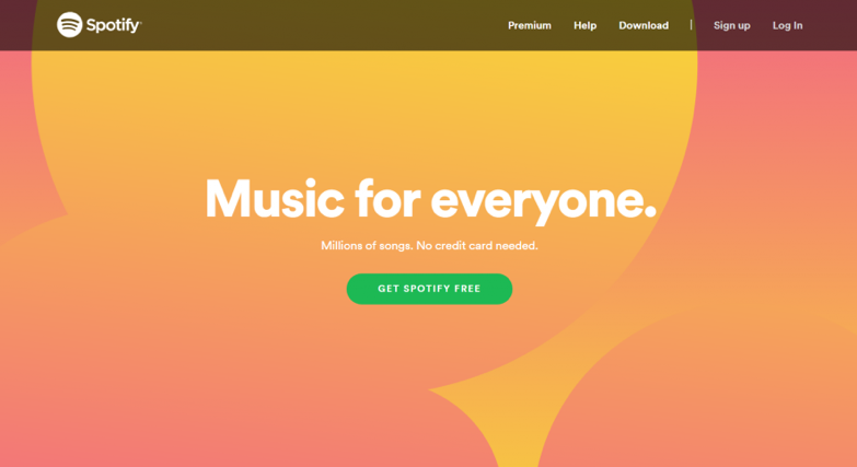spotify call to action
