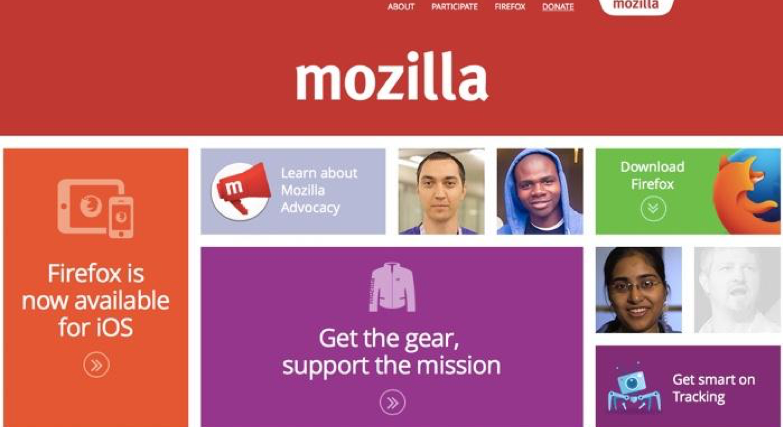 mozilla call to action