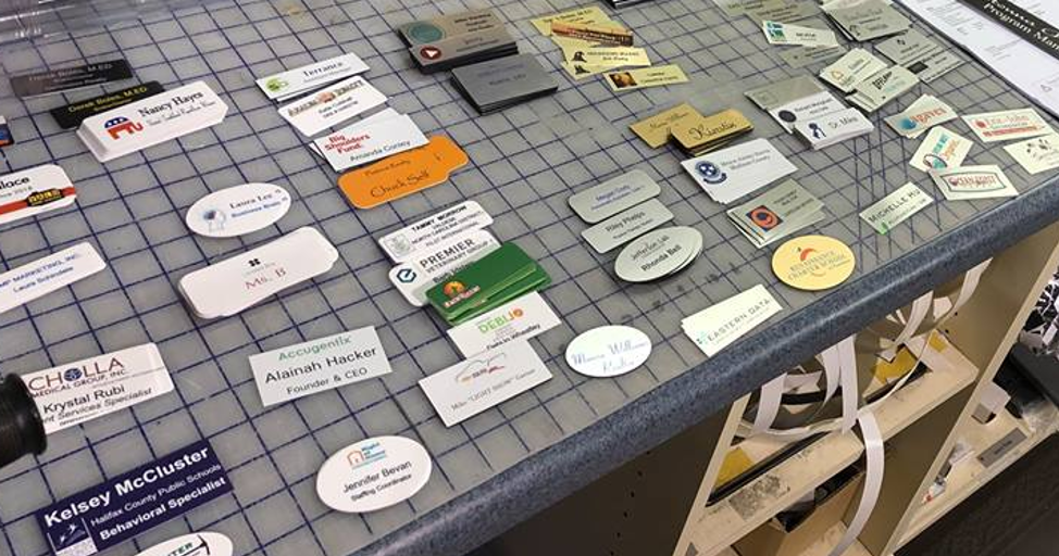 name tag examples
