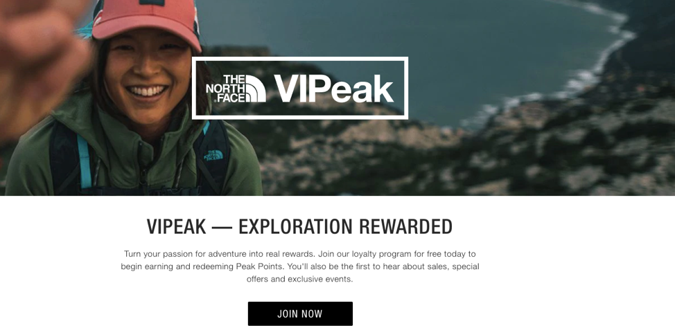 NorthFace Loyalty Program