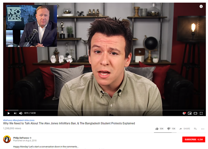 Phillip DeFranco screenshot