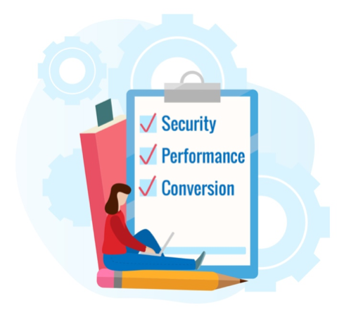 Web owners should check how everything relates to security, performance, and conversions.