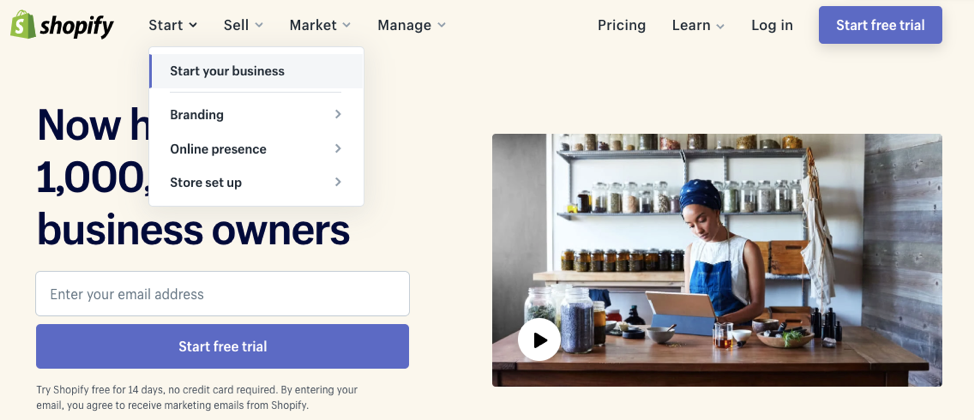 Platforms such as Shopify can help e-commerce businesses keeps costs associated with building platforms.
