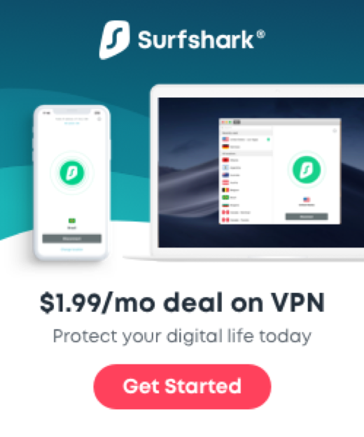 Surfshark, for example, offers a VPN for $1.99 a month.