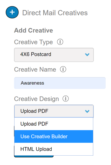 If you're using ReachDynamics, they've got a Creative Builder you can use if you don't have a designer.