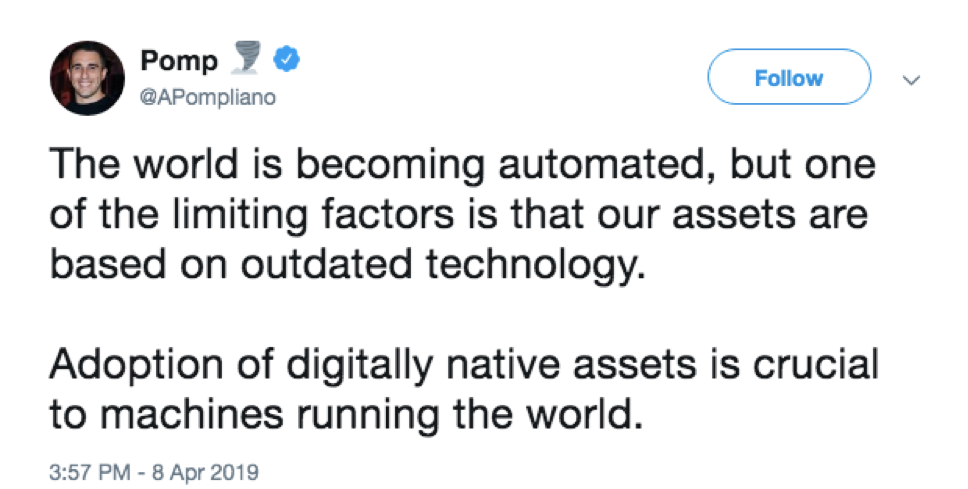 Pompliano Blockchain Influencer