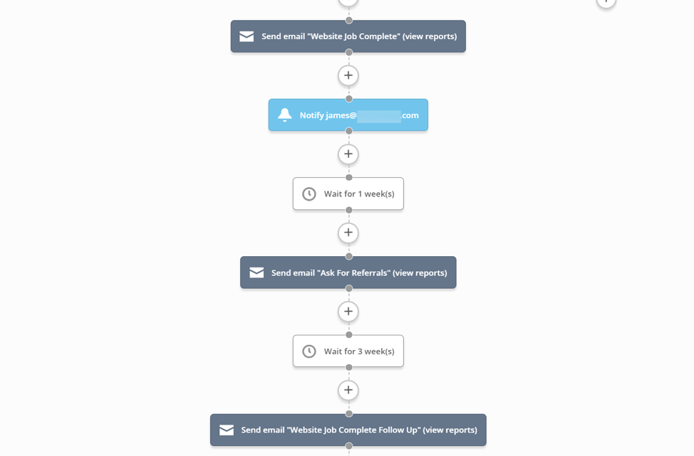 Automate asking for referrals