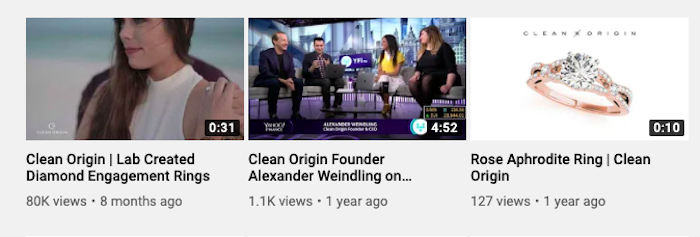 clean origin youtube