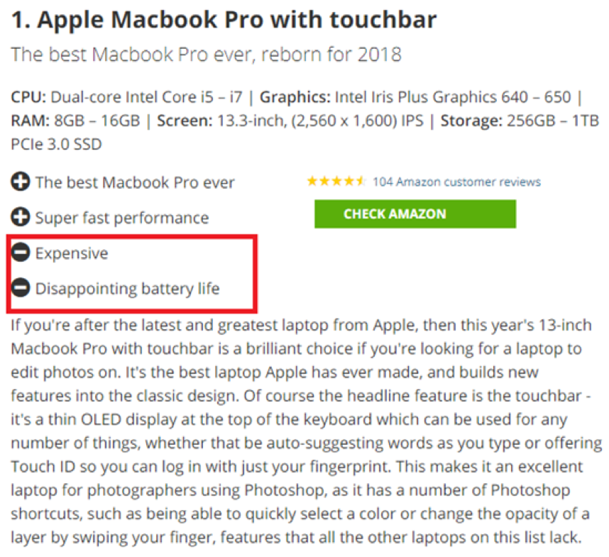 TechRadar MacBook Pro review