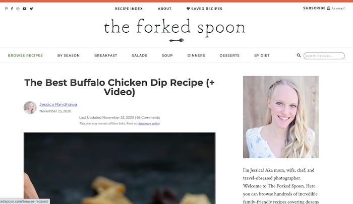 The Forked Spoon Recipe Blog