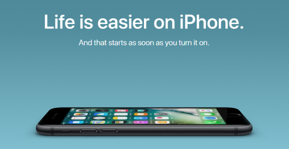 Life is easier on iPhone ad