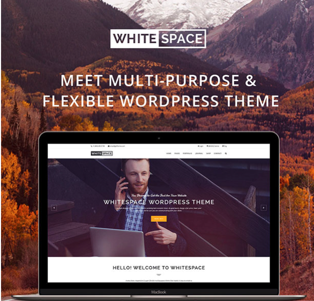 whitespace wordpress