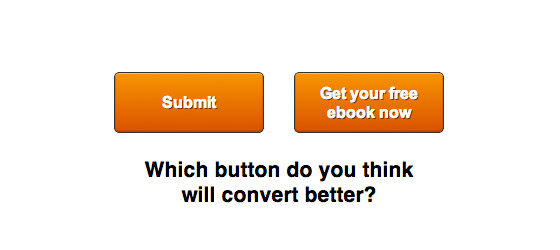Examples of conversion buttons