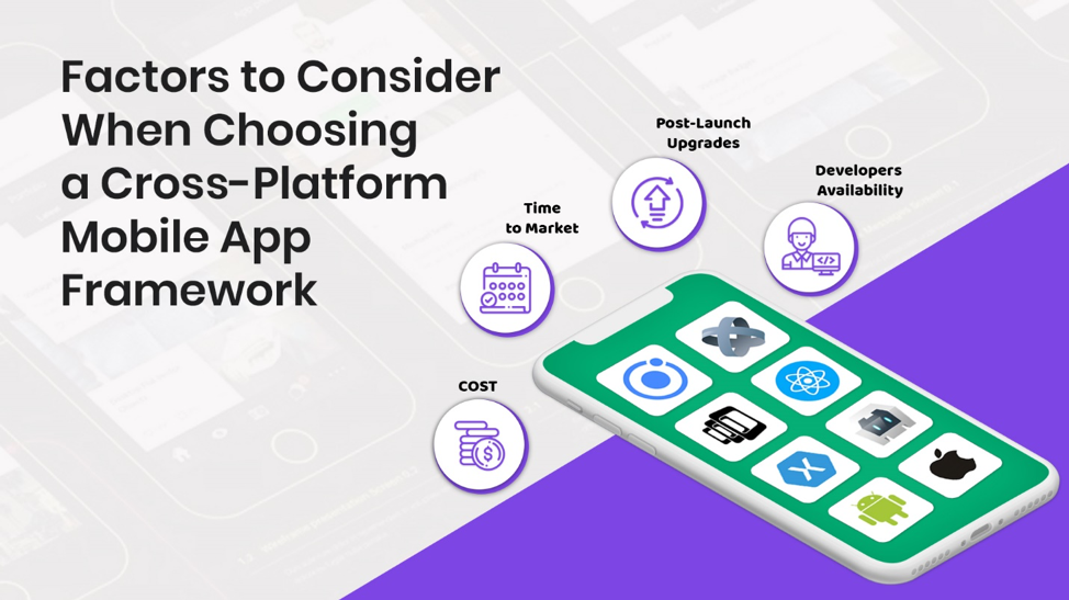 factors to consider when choosing a cross-platform mobile app framework
