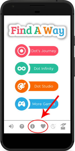 Find A Way puzzle game app