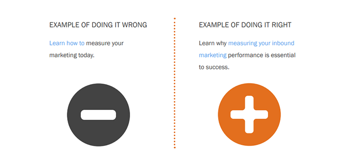 Hubspot Example of How Not to an Anchor Link