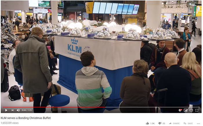KLM Bonding Buffet 2