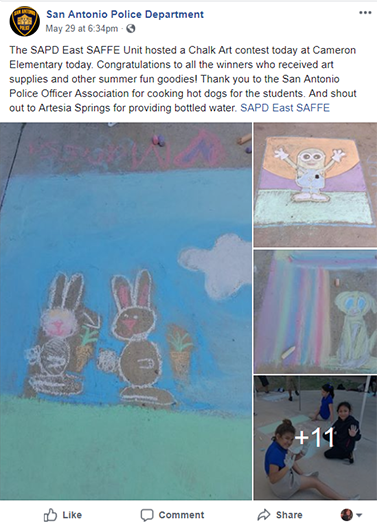 SAPD Facebook post 2