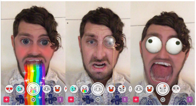 Snapchat face filters