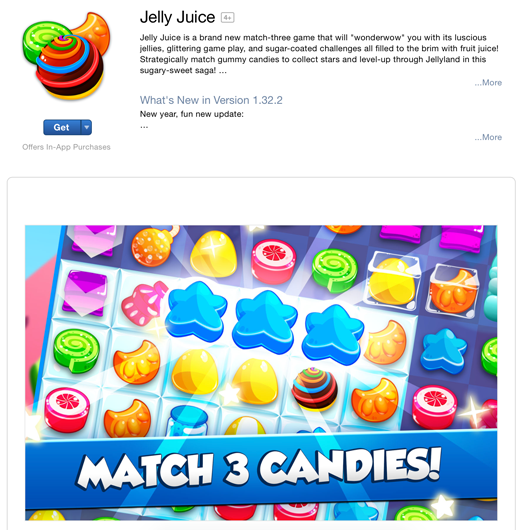 images in Jelly Juice's profile on App Store