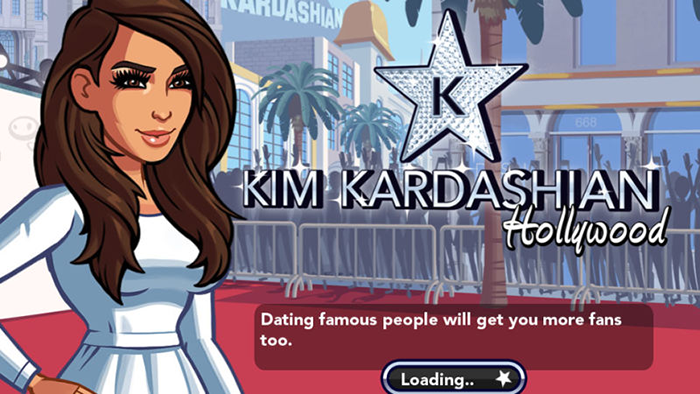 Screenshot of Kim Kardashian game