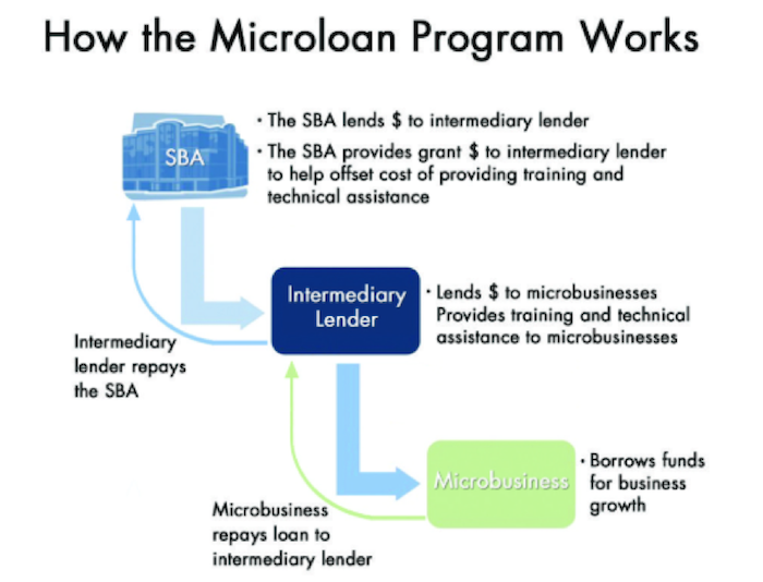how the microloan program works