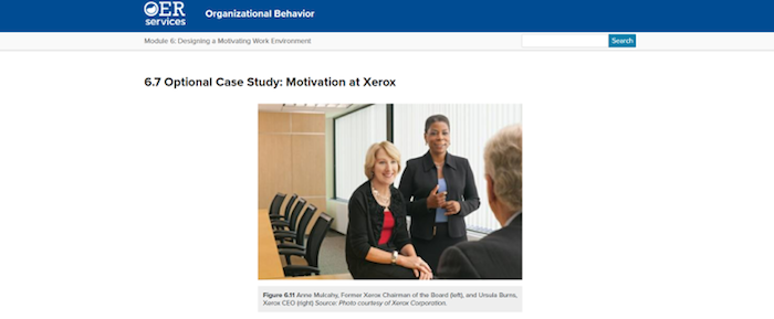 Motivation at Xerox