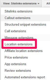 Location extensions image