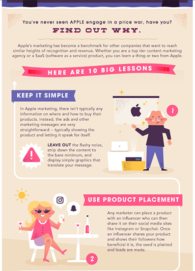Infographic style tip sheet