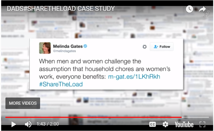 Share the Load ad campaign